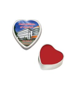 Lip Balm Heart Tin