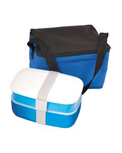 """Reusable Lunch In A Bag W/Cutlery 8""""x5.5""""x5.5"""" (Blank)"""