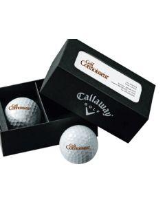 Linen Business Card Box w/ Hex Hot Balls
