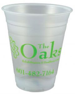 16 Oz. Soft Sided Frosted Stadium Cup