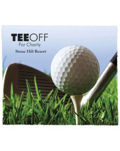 Premium Microfiber Cleaning Cloth - Golf