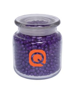 Apothecary Jar with Colored Bullet Candy