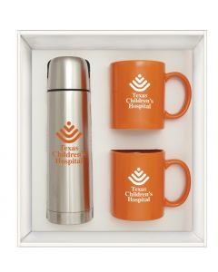 Orange Hampton To Go Gift Set