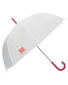 "Dome Umbrella w/ Rubber Grip Handle (46"" Arc) (Printed)"