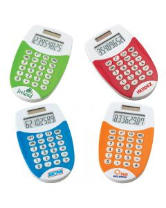 Colorful Dual Powered Pocket Calculator