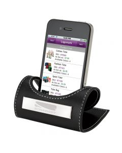 Genuine Leather Engravable Mobile Phone Holder