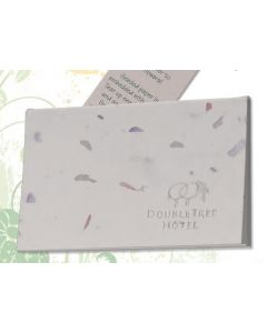 "Debossed Seeded Paper Notebooks & Journals - (5""x7"")"