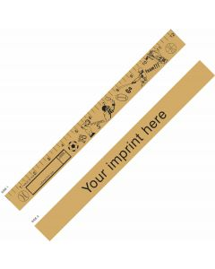 "Sports ""U"" Color Ruler"