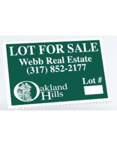 "Economy Corrugated Yard Sign (12""x18"")"