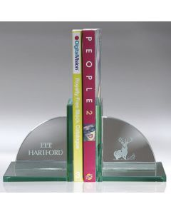 Hamilton Book Ends on L Shaped Base