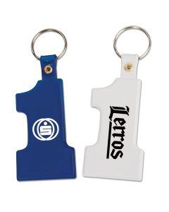 #1 Plastic Key Tag