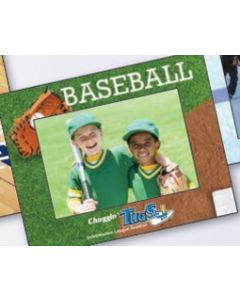 Sports Baseball Small Photoframeables Photo Frame Decal
