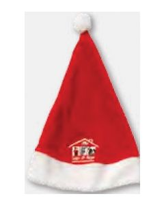 Santa Hat (Decorated in USA 3-5 Day Delivery)