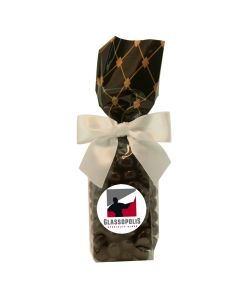 Black Diamonds Mug Stuffer Gift Bag with Chocolate Covered Espresso Beans