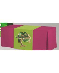 Flame Retardant Poly 13' Box Pleat Table Skirt