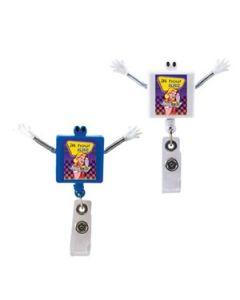 Googly Eyed Square Badge Holder (Full Color Digital)