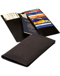 Chelsea Cowhide Leather Traveler's Companion Travel Wallet
