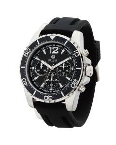 Watch Creations Unisex Rotating Bezel Watch w/ Rubber Strap