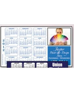 "HD Resolution Horizontal Calendar Magnet - Tropical Palm Tree (4""x7"")"