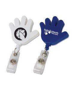 Hand Retractable Badge Holder