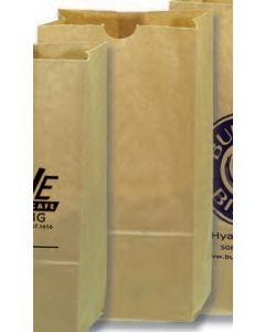 Number 10 Grocery Bags - Natural Kraft