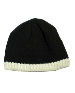 Knitted Beanie W/Fleece Ear Lining