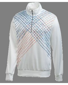 Puma Golf 1/4 Zip Argyle Popover