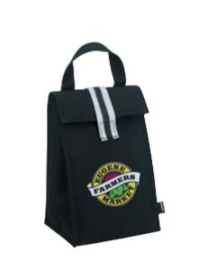 Koozie Stripe Lunch Bag