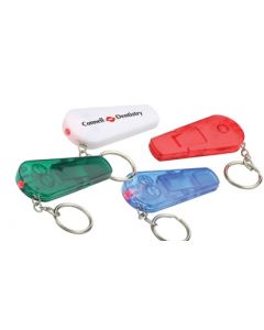 Sound N' Sight Whistle & Key Chain