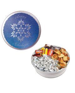 The Royal Tin with Hershey Chocolates - Snowflake Design