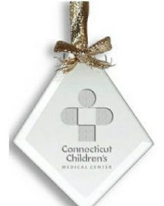 Clear Diamond Ornament