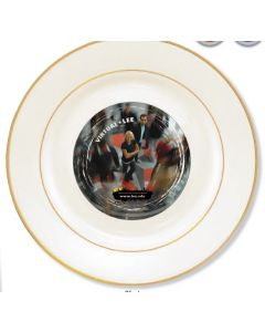 "8"" Full Color Sublimation Porcelain Plate"