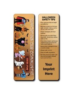 Halloween Stock Full Color Digital Printed Bookmark