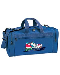 Promotional Travel Bag w/ U Zippered Mouth