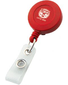 Red Retractable Badge Reel