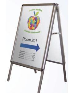 Aluminum A-Frame Portable Interior Signage Stand