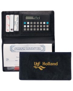 Summit Checkbook Cover with Calculator