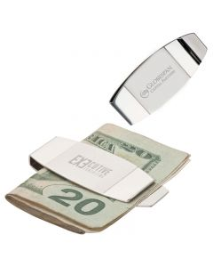 2 Tone Curved Money Clip
