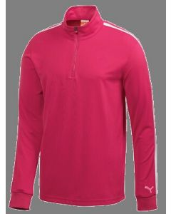 Puma Golf Longsleeve 1/4 Zip Top Cresting (Cat on Left Sleeve)