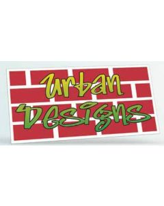 "Rectangle Vinyl Bumper Sticker Magnet (3 3/4""x7 1/2"")"