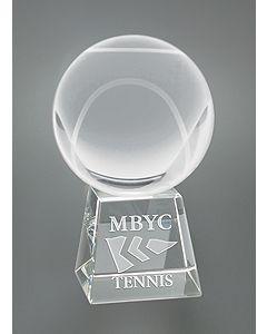 Tennis Ball Sport Ball on Base Award