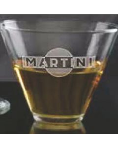 13.5 Oz. Stemless Martini Glass