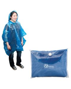 "Borlack Disposable Poncho 49""x46"" (Printed)"