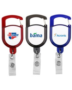 Carabiner Badge Holder (Direct Import - 10 Weeks Ocean)