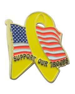 American Troop Support Lapel Pin