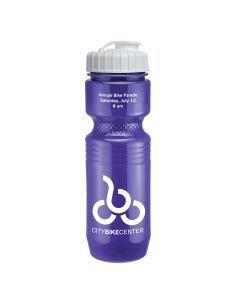 26 Oz. Jogger Bottle Flip Top Lid - Solid Colors