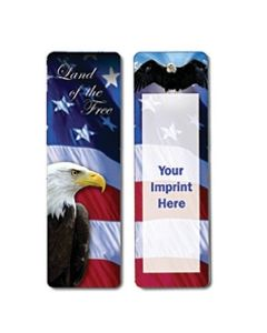 Political Stock Full Color Digital Printed Bookmark