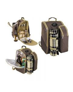 2 Person Picnic Backpack Set