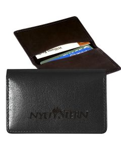 Leeman Alpine Cowhide Business Card Case