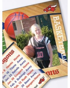 Sports Basketball Mini Photoframeables Photo Frame Decal